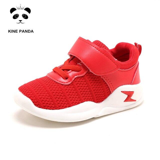 KINE PANDA Kindergarten Kids Baby Shoes Girls Boys Toddler Girl Boy Casual Sneakers 1 2 3 4 Years Old Breathable Anti-slide