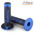 free shipping Handle bar Grip for dirt bike  motocross motorcycle blue QX   racer  domino abm crf 250