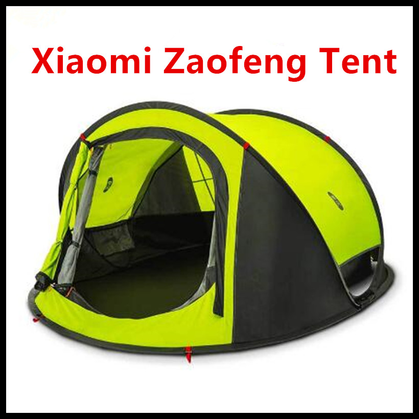 Xiaomi Ecological Chain Brand-ZaoFeng Outdoor Automatic Fast Opening Tent for 3-4 User Large Space Fast Installing Smart Home