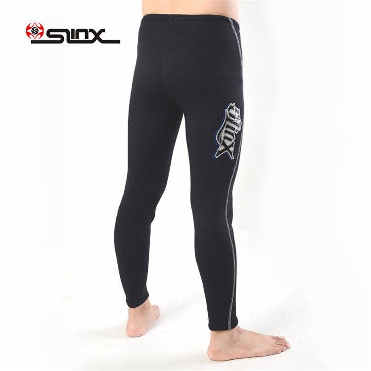 Slinx 1309 3 мм неопреновое оборудование для ныряний длинные брюки штаны для подводного плавания гидрокостюм низ мужские зимние плавки утолщенные сохраняющие тепло - 5