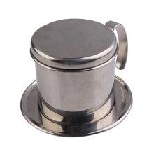 De Metal de Acero inoxidable Colador Taza Fabricante de Filtro de Goteo de Café Vietnamita FG
