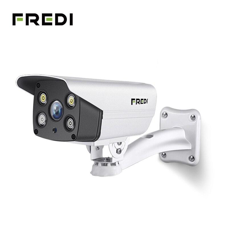 FREDI 720P/1080P Onvif WiFi IP Camera Wireless Outdoor Waterproof Security Bullet Camera Night Vision Surveillance CCTV Camera цены