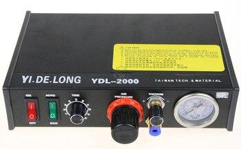 цена на YDL-2000 Semi-automatic Glue Dispenser AB UV Glue Dispenser Solder Paste Liquid Controller for SMD PCB