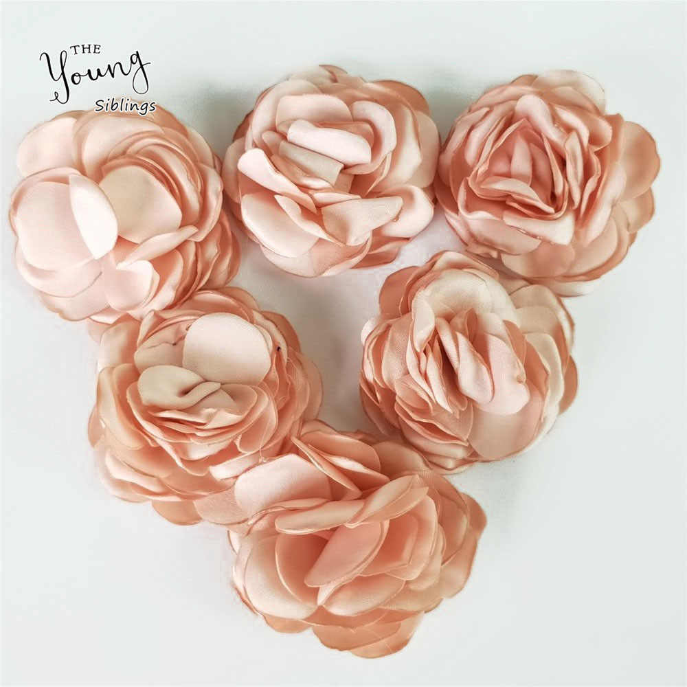 Hot sale Rose Artificial Flower Silk Rose Heads For Wedding Party Home Room Decoration  DIY Marriage Clothing Accessories XH2