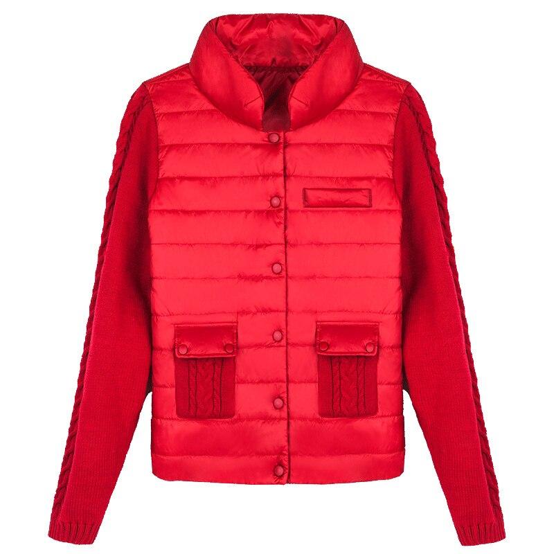 Outwear Pour Parka Hiver Veste Solide Qw469 D'hiver Black kaki red Femme Meilleurs Mince Court Vêtements Féminins Femmes Rembourré Manteau PvP4HfFq