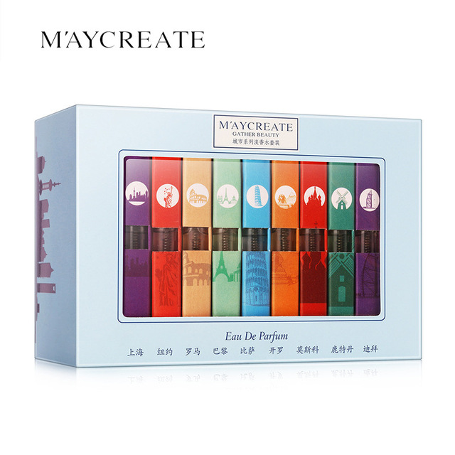 1Set MayCreat Original Portable Perfume Women Perfume Spray Fragrance and Deodorant Female Perfume Fragrances for Women Perfumes