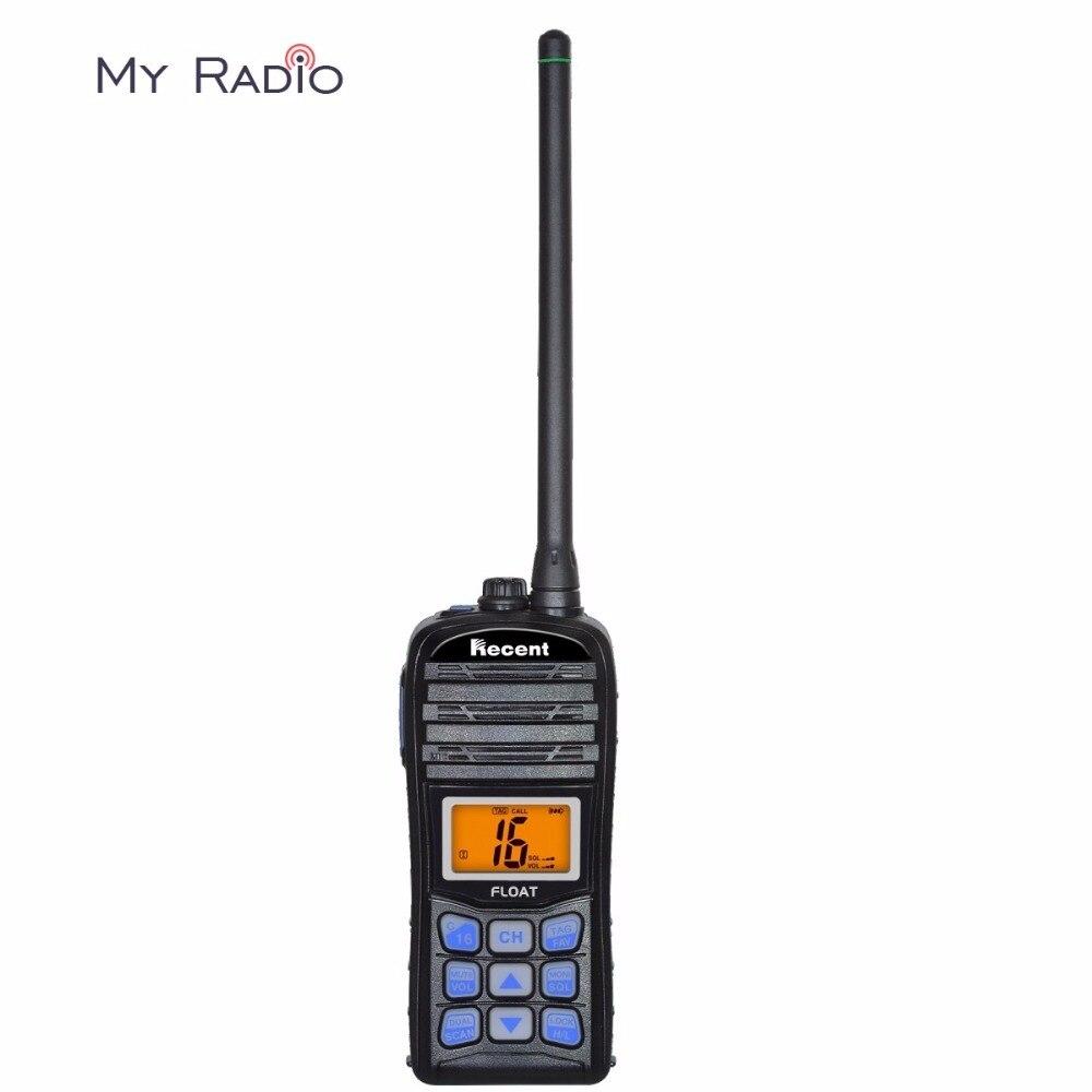 Récente RS-35ME Explosion-preuve De Poche Marine Radio IP67 Étanche À La Poussière LCD Affichage Flotteur Vibrations Vidange Transeiver