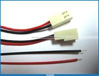 500 шт. 2510 2.54 мм Шаг 2 Булавки разъем с 26AWG 300 мм приводит кабель