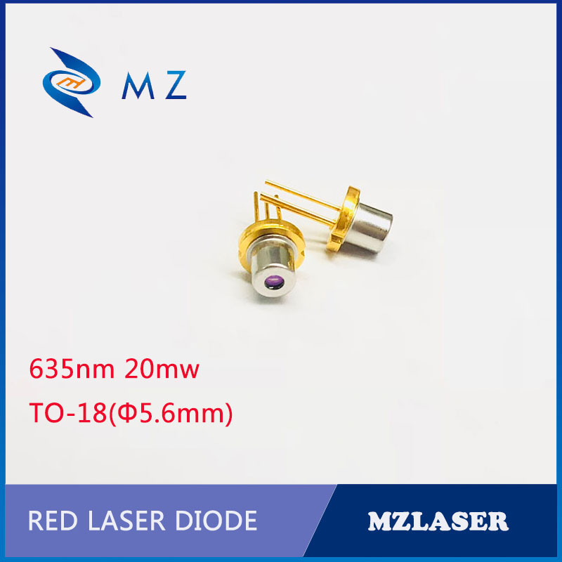 Red Laser Diode 635nm20mw Laser Diode TO-18Packaging Red Industrial Laser Diode
