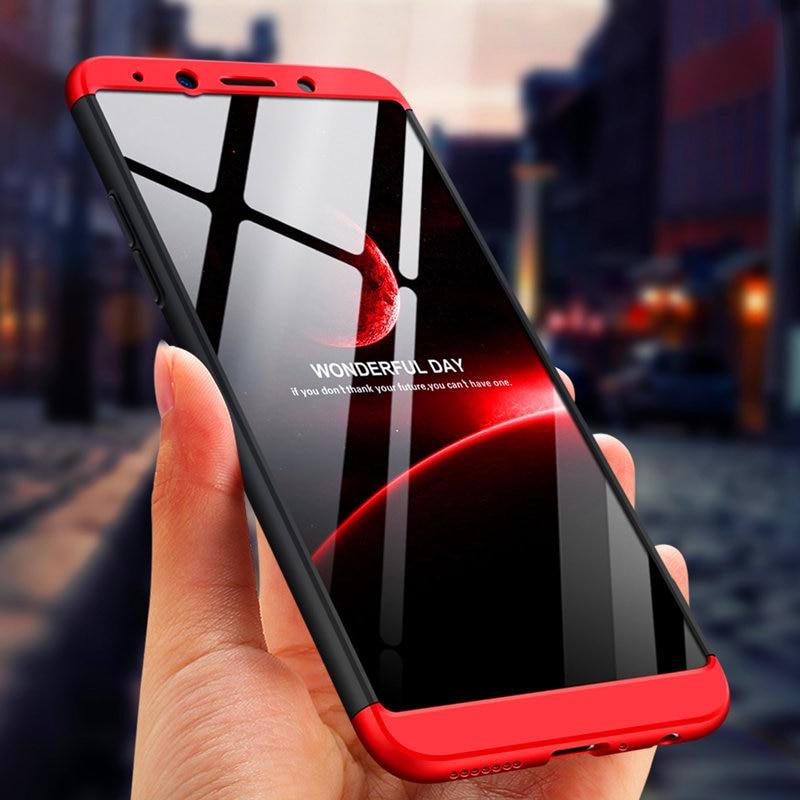 Realme 1 360 Case For Oppo Realme1 Matte Plastic Full Body Protection Cover for