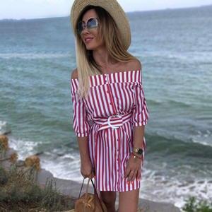 6fb2f53dbbb JPTTUP Summer Beach Dresses Women Red Button shirt Vestidos