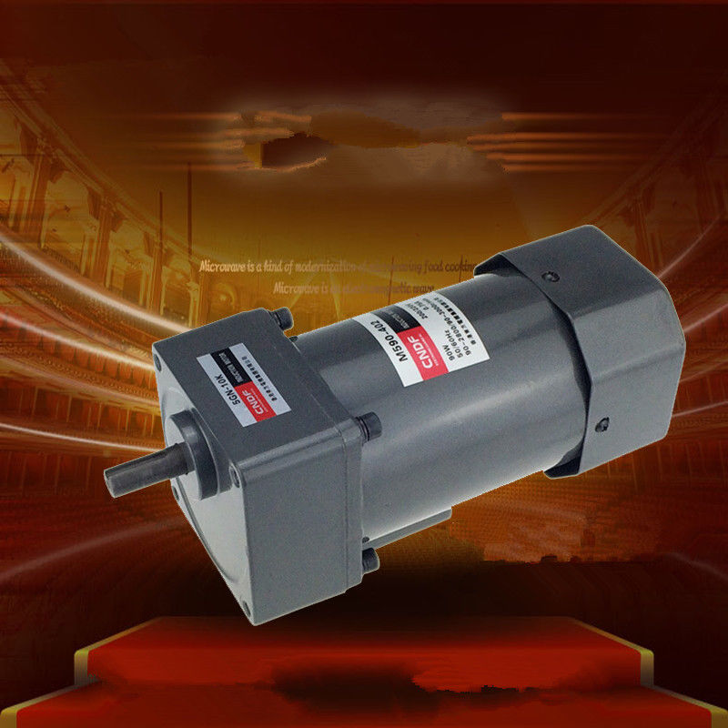 AC Vertical Gear Motor Governor Adjust the speed 90W M590 Single phase 110V/115V 220V/230V 7RPM-450RPM 5GN