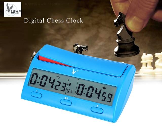 ebed4dc07fd LEAP PQ9912 Multifuctional Relógio de Xadrez Temporizador de Contagem  Regressiva Digital Profissional Novidade Prático Jogo Competição