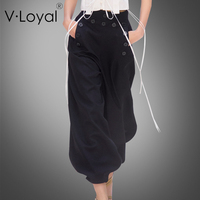 New fashion fashion pants in Europe and the United States in the end of the nine leg pants