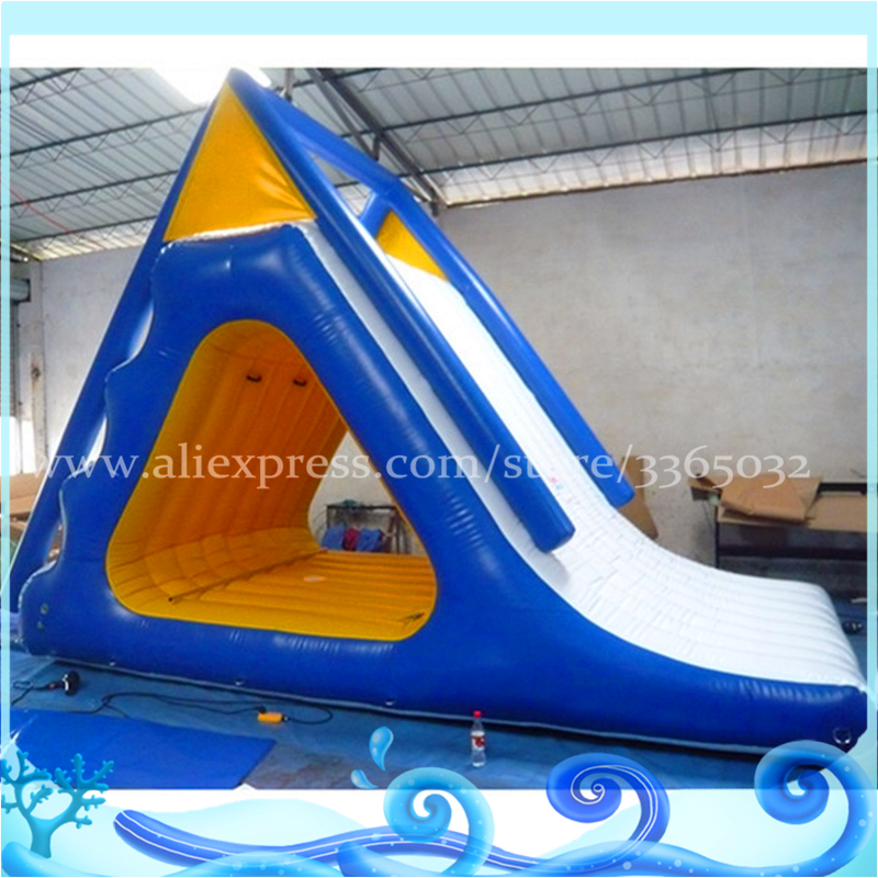 Factory Direct Sales Commercial Inflatable Water Slide For Adults/inflatable Floating Water Game Slide For Sale