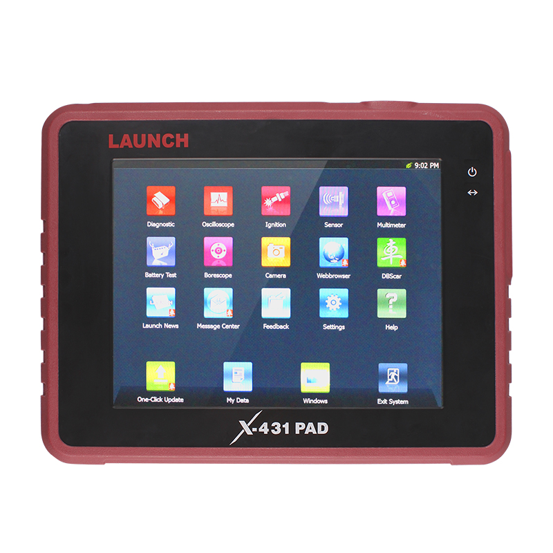 Original LAUNCH Top Professional Auto Diagnostic Tool LAUNCH X431 PAD Support 3G WiFi Update Online X-431 PAD