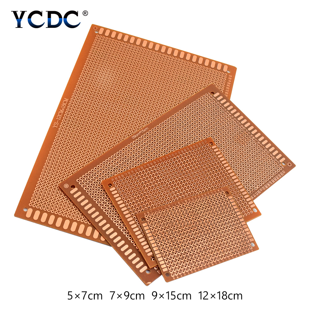 10pcs 5x7 7x9 9x15 12x18cm Printed Circuit Board Diy Prototype Pcb Hot Sale 10 Pcs Universal Breadboard For Electronic Arduino Projects In Circuits From Consumer