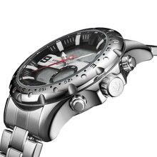 WEIDE топ Элитный бренд повседневные часы светодиодный мужчин светодиодный цифровые человек спортивные Военная Униформа нержавеющая сталь наручн