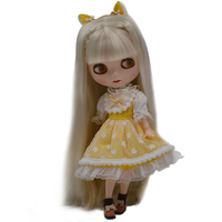 Blyth Doll BJD, Neo Blyth Doll Nude Customized Frosted Face Dolls Can Changed Makeup and Dress DIY, 1/6 Ball Jointed Dolls SO32