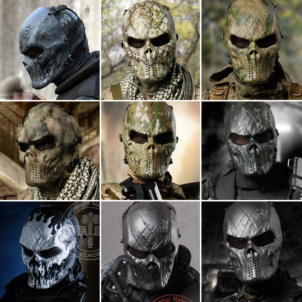 Online Buy Wholesale tactical face mask skull from China tactical ...