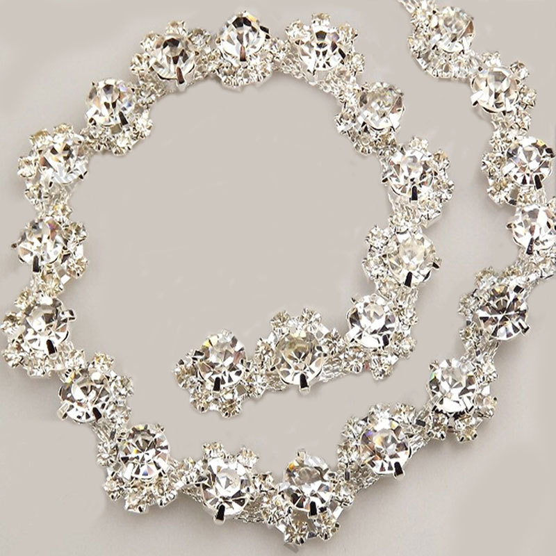 Crystal Mm Rhinestone Wedding Decoration