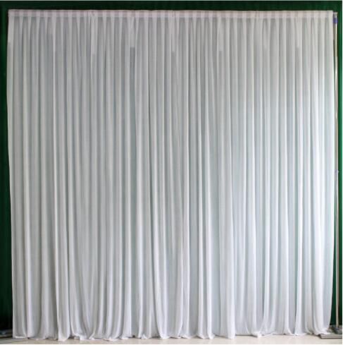 10x10ft Ice silk elegant wedding backdrop curtain drape wedding supplies curtain drapes background for party event