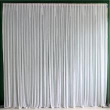 10x10ft ледяной шелк элегантный свадебный фон занавеска драпировка свадебные принадлежности занавески фон для вечерние мероприятия