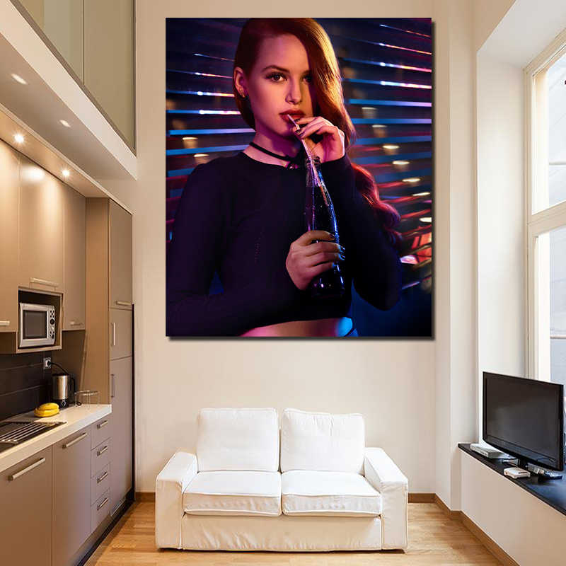 Cheryl Blossom On Riverdale Canvas Painting Prints Bedroom Home Decoration Modern Wall HD Art Painting Posters Artwork Framework