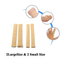4 Piece Gel Bunion Relief Toe Spacer Corrector, 4 Styles of Toes Separators Protector Foot Care, Bunion Pads to Ease Pain D0104
