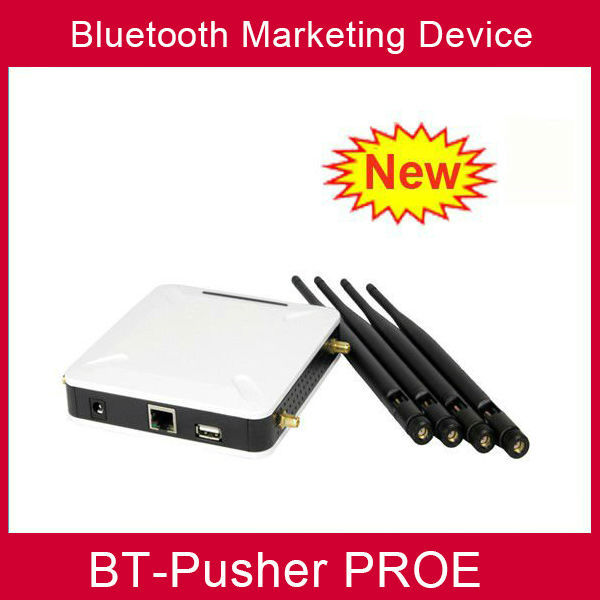 Bluetooth mobiles advertising device BT-Pusher PROE with car charger(promote your shop anytime,anywhere )