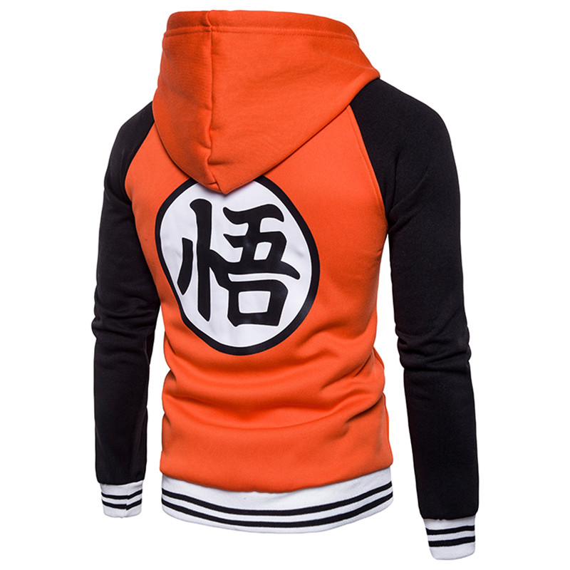 Hoodies Mens Autumn Hoody Men Dragon Ball Coat Casual Male Jacket Moleton Masculino Fashion Boy Hoodies Sweatshirt M-3xl #4