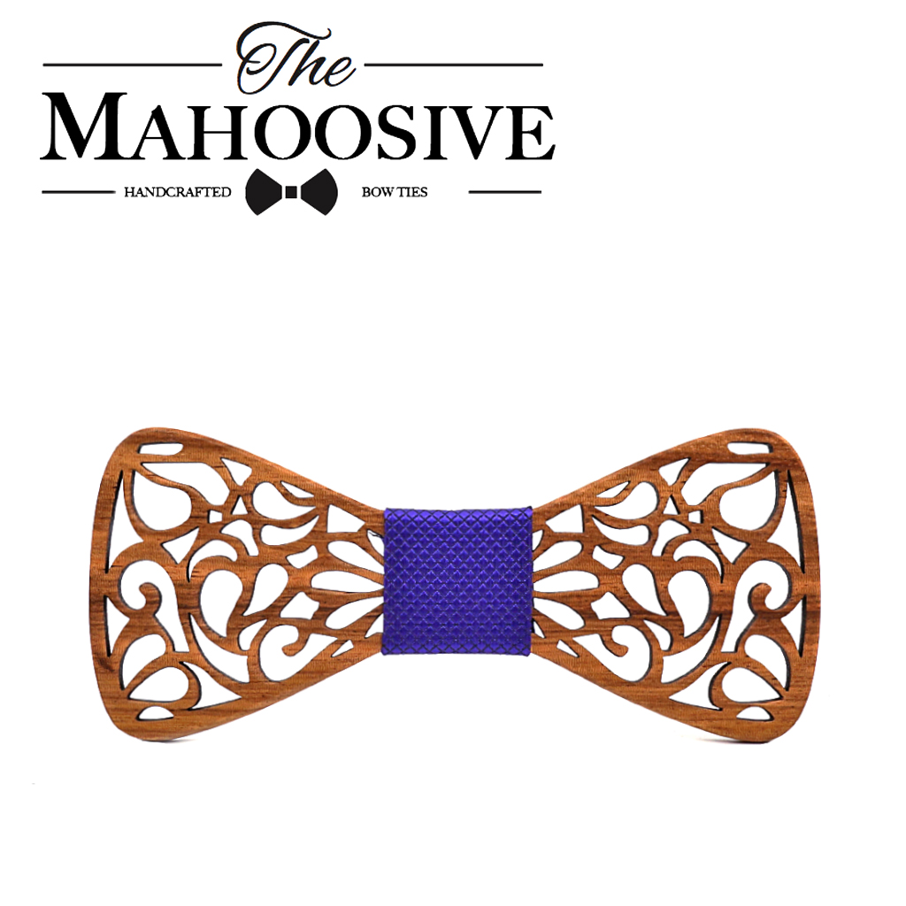 Mahoosive New Floral Wooden Bow Ties for Males Bowtie Hole Butterflies Marriage ceremony go well with picket bowtie Shirt krawatte Bowknots Slim tie HTB1qLzrg5MnBKNjSZFoq6zOSFXaR