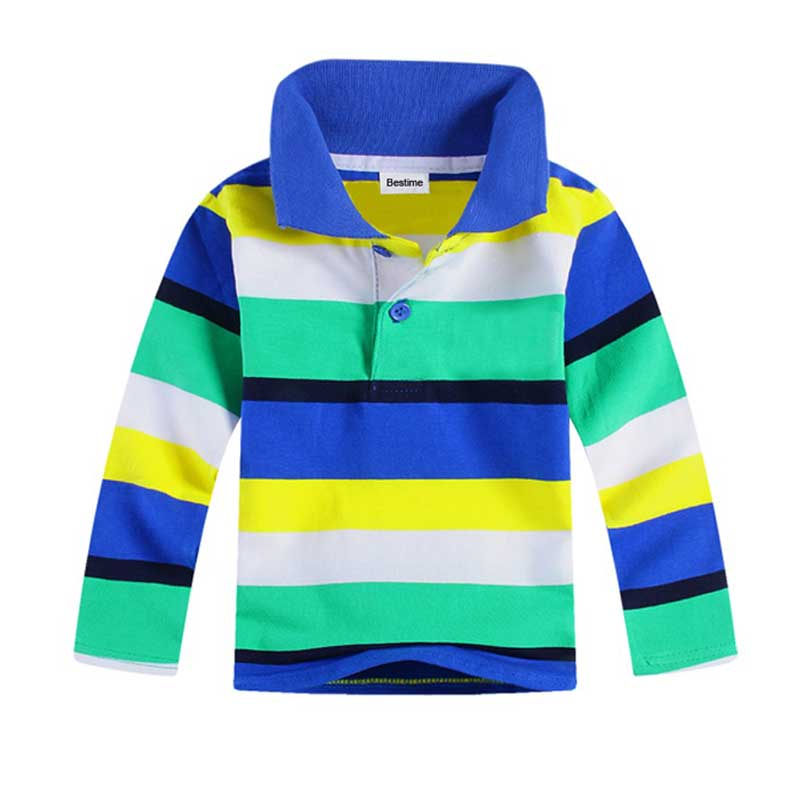 long sleeve kids boys t shirts cotton striped children tops autumn 2017 fashion new shirts for boys casual boy clothing