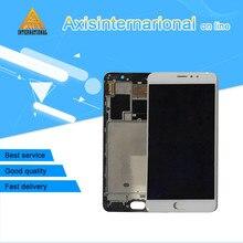Для 5.7 »Meizu Pro 6 Plus axisinternational ЖК-дисплей экран + Сенсорная панель планшета с рамкой Белый/Черный бесплатная доставка
