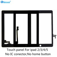Netcosy Touch Panel For Ipad 2 3 4 5 Touch Screen Digitizer Glass Panel Repair For
