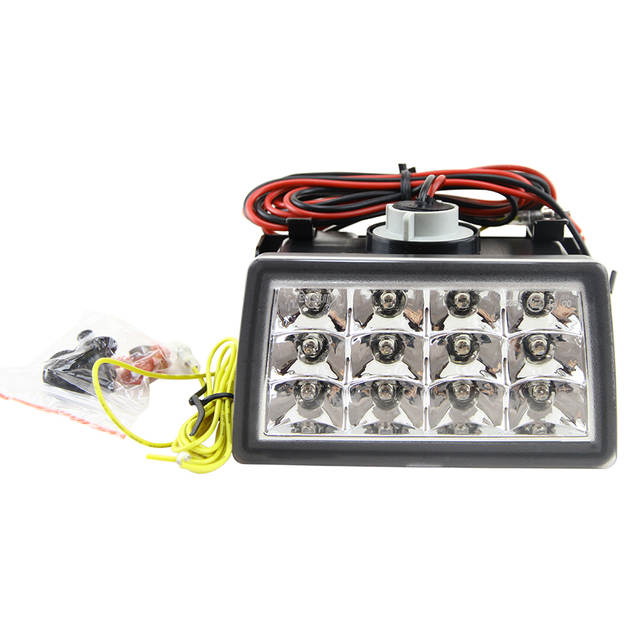 Red/Clear Lens F1 Style LED Rear Strobe Flasher 3rd Brake Light Lamp F1  Style Rear Fog Lights For WRX STI XV
