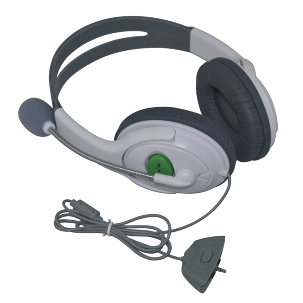 10PCS High Quality Big Headset Headphone With Microphone for XBOX 360 Xbox360 Slim NEW Arrival Gaming Headsets