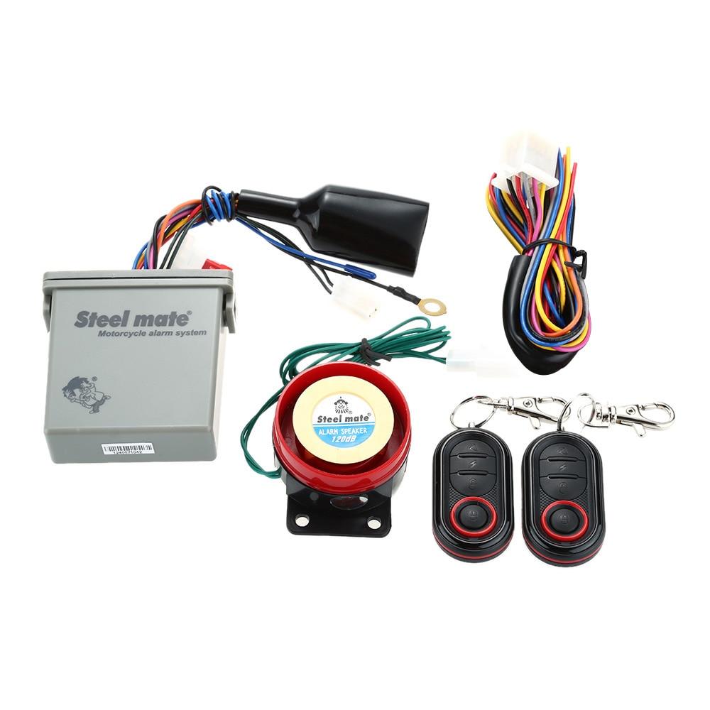 Steelmate Motorcycle Alarm Wiring Diagram | Wiring Liry on