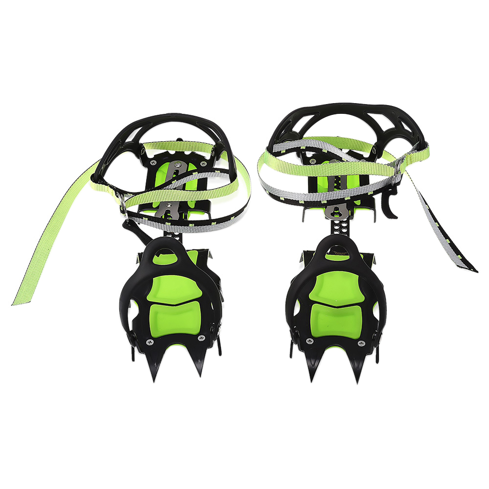 One Pair of Bundled Crampons Professional Stainless Steel Ice Gripper Ice Crampons Snow Board For Skiing Climbing a storm of swords part 1 steel and snow
