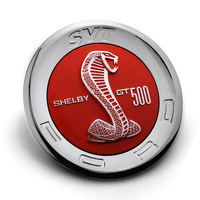 1x 3D Red Cobra ABS 5 9 Car Styling Auto Rear Back Emblem Decal Badge Sticker