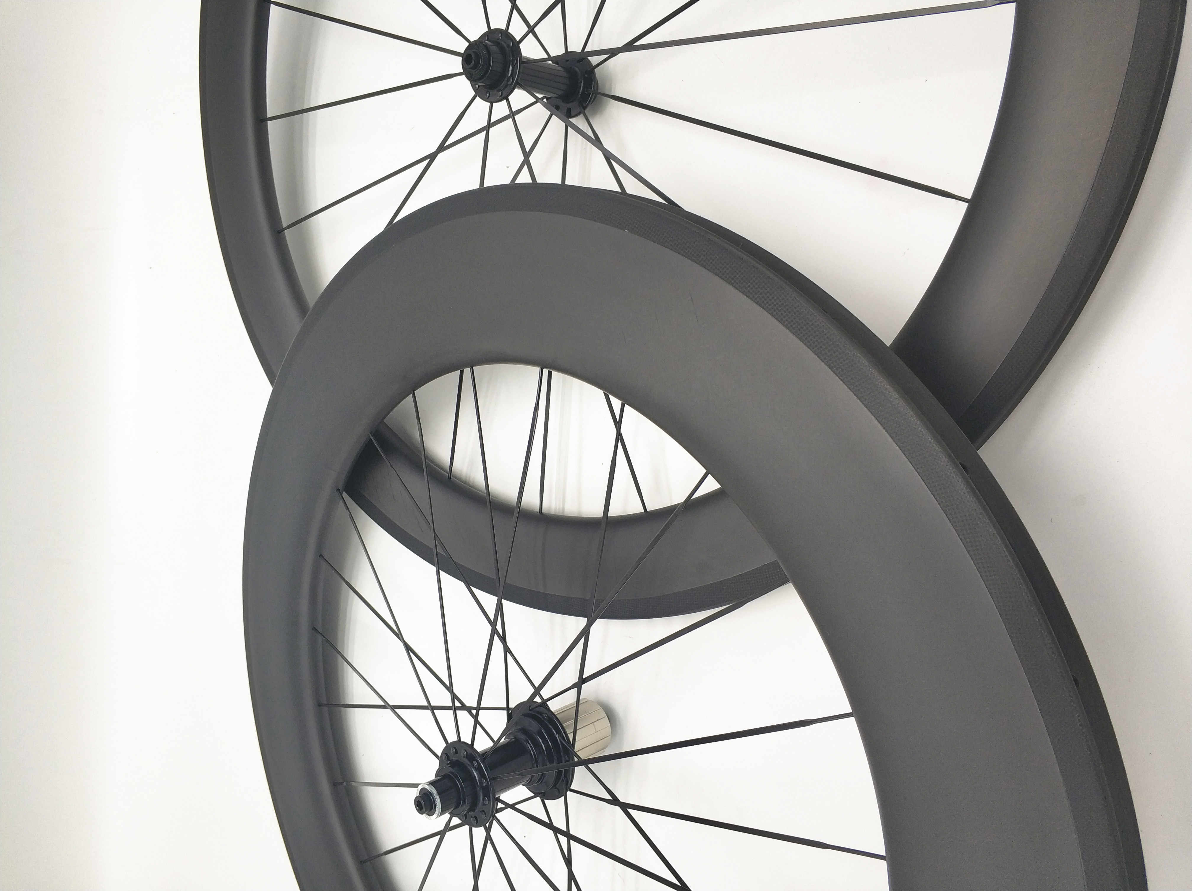700c pneu tubulaire 23mm ou 25mm largeur roues en carbone 38mm 50mm 60mm 88mm carbone roues de route roues en carbone roues de vélo