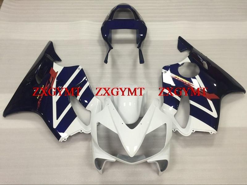 Bodywork for CBR F4i 2001 - 2003 Body Kits CBR F4i 2001 Dark Blue White Fairing Kits CBR 600 03Bodywork for CBR F4i 2001 - 2003 Body Kits CBR F4i 2001 Dark Blue White Fairing Kits CBR 600 03