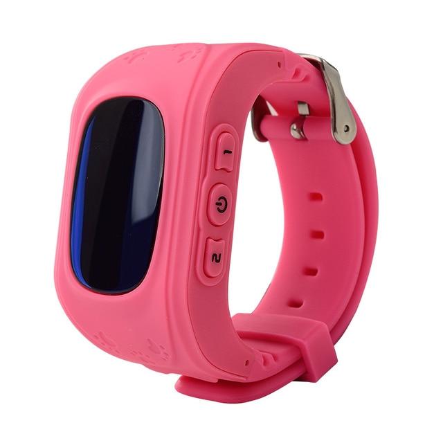 Symrun Smart watch Children Kid Wristwatch Q50 GSM GPRS GPS Locator Tracker Anti-Lost Smartwatch Child Guard for iOS Android
