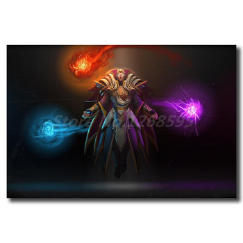 Invoker Dota 2 Wallpaper Wall Art Canvas Poster And Print Canvas Painting Decorative Picture For Office Living Room Home Decor 2