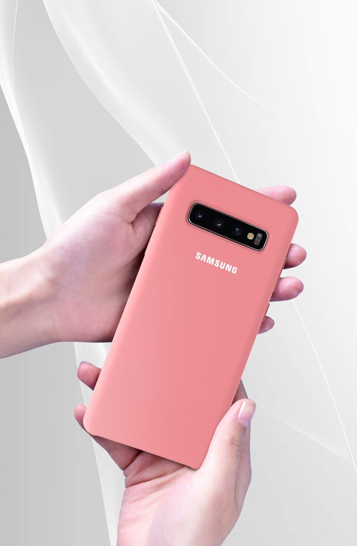 SAMSUNG S10 Case Original Silicone Made in Vietnam version Samsung Galaxy S8 S9 S10 Plus Note 8 9 10 10+ S10 5G S10e Case Cover