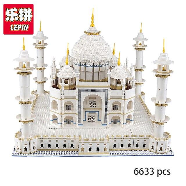 Aliexpress Buy Lepin 17008 Creator Expert Taj Mahal Model