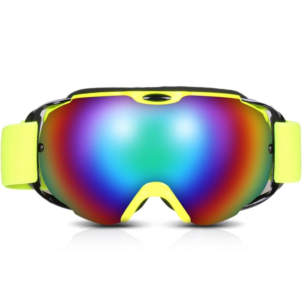 OGT Ski Goggles Double Layers Uv Protection Men Women Snow Snowboard Goggles Anti-Fog Ski Mask Glasses For Skiing Snowboarding