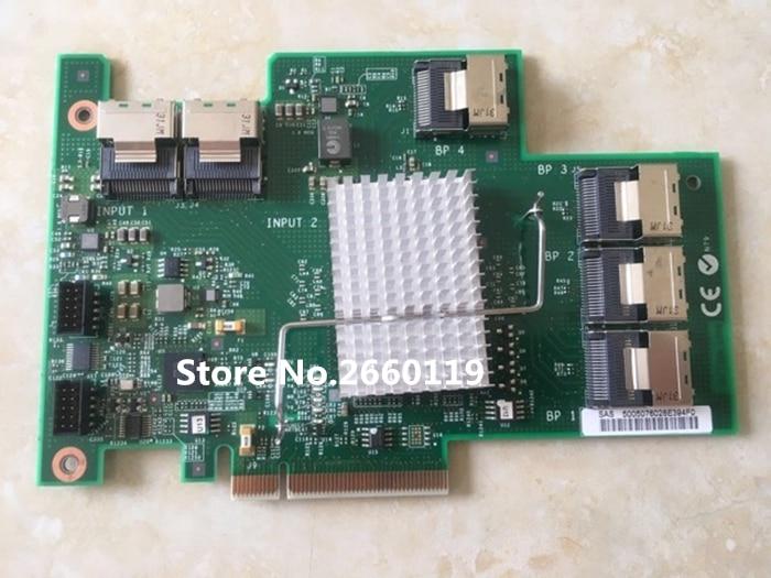 For X3650M3 SAS expansion card External SAS cable 46M0997 69Y0650 sas card megaraid sas 84016e 16 256mb cache sas array card 100