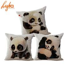 CV Cushion Cover only Funny Panda
