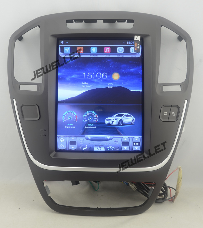 10.4 tesla style vertical écran android 4.4 Voiture GPS radio Navigation pour Buick Regal, Opel Vauxhall Holden Insignes